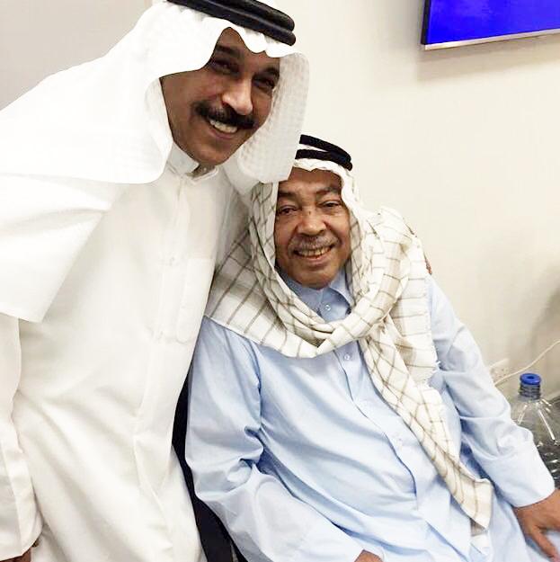سعد الفرج وعبدالله الرويشد كواليس افتتاح دارالاوبرا