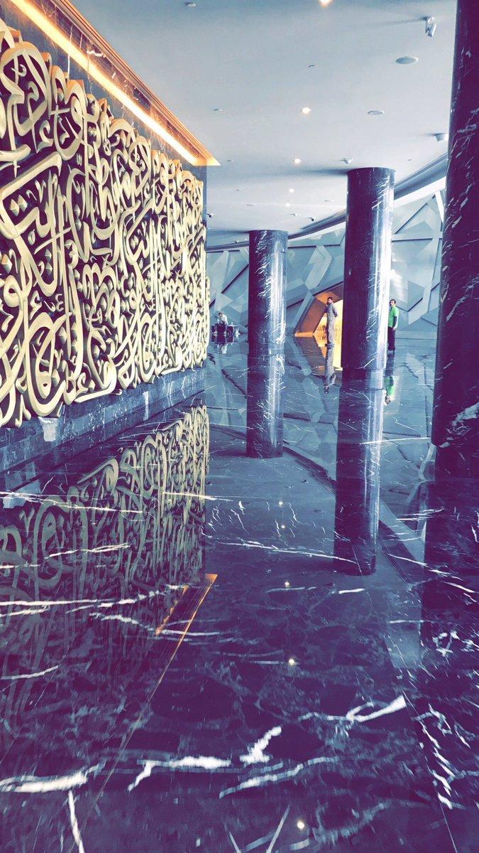 احد ممرات مركز جابر الاحمد المؤدي الى دار الاوبرا