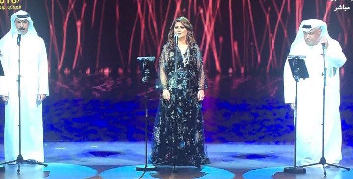 نبيل شعيل - نوال - عبدالله الرويشد - على المسرح بيوم الافتتاح
