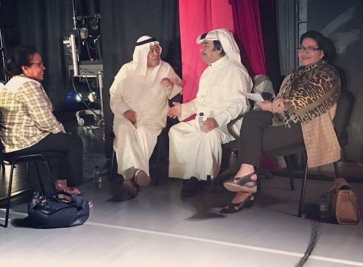 سعاد عبدالله - عبدالحسين عبدالرضا - حياة الفهد | بروفات