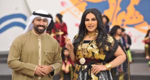 أحلام تهدي الكويت أغنية يالوطن يالزبرقان (5)