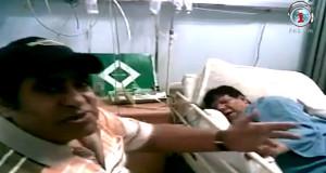 عدوية يغني لشعبولا ويخفف عنه بعد العملية