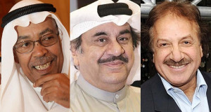 محمد المنصور - عبدالحسين - سعد الفرج