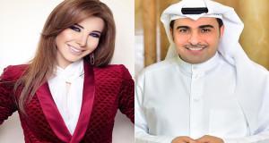 خالد مريخي ونانسي