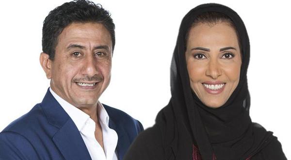 ناصر القصبي و زوجتة