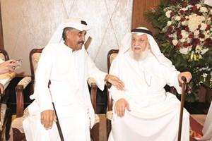 الفنان القدير محمد المنيع ومحمد جابر