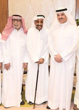وزير الصحة د.جمال الحربي ومحمد جابر وإبراهيم الصلال