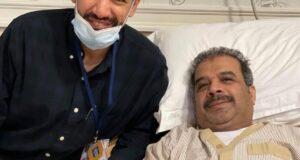 محمد المسباح مع د عبدالله الحداد